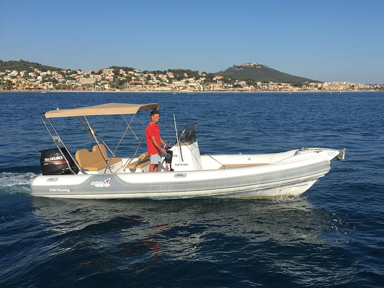 Location bateau ski nautique Sanary Bandol Six-Fours